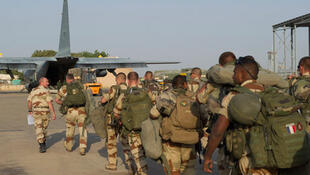 French troops heading to Mali