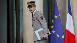 French Army Chief of Staff, General Pierre de Villiers arrives at the Elysee Palace in Paris, France, July 13, 2017.