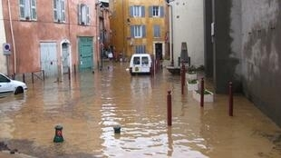 Floods in Luc-en-Provence on June 15, 2010