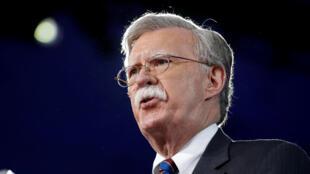 John Bolton, asesor de Seguridad Nacional de la Casa Blanca.
