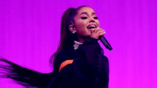 A cantora norte-americana Ariana Grande