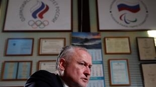Người đứng đầu cơ quan chống doping Nga (RUSADA), ông Yury  Ganus, trả lời phỏng vấn, Matxcơva, ngày 05/12/2019.
