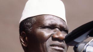 Ahmed Sékou Touré  na kasar Guinea