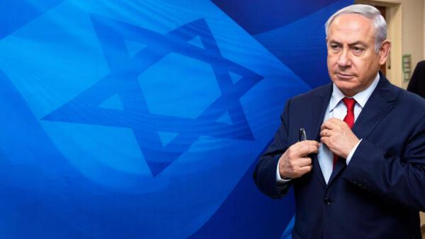 O primeiro-ministro israelense Benjamin Netanyahu alega inocência nas acusações de corrupção da polícia israelense.