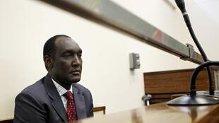 Exiled Rwandan General Faustin Kayumba Nyamwasa looks on during his court appearance in Johannesburg, 21 June, 2012
