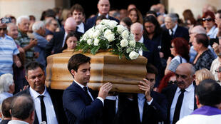 3 ноября в городе Моста на Мальте пошли похороны убитой 16 октября журналистки Дафне Каруана Галиции