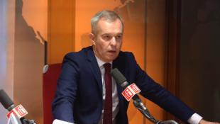 François de Rugy aos microfones de RFI