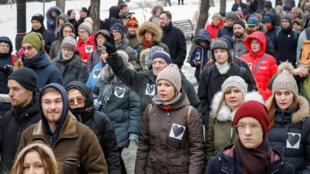 «Марш материнского гнева» в Москве 10 февраля 2019.