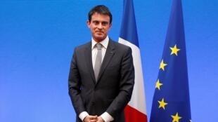 法國總理瓦爾斯2014年12月4日巴黎