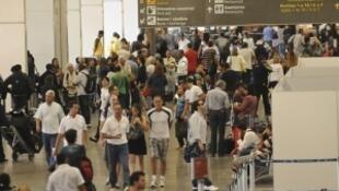 Aeroporto Galeão é o segundo mais importante do país.