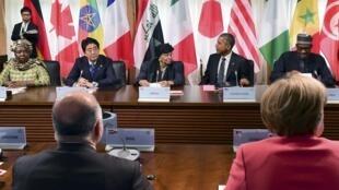 Hội nghị thượng đỉnh G7 lần thứ 41 tại Đức, ngày 08/06/2015.