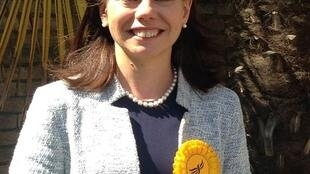 Sarah Olney, Liberal Democrat candidate for Richmond Park in London discusses Brexit and her party's chances in the June 8 general election, June 3 2017