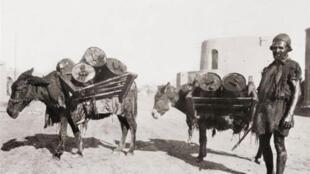 حمل نفت: آبادان، سال ١٩١٠ میلادی