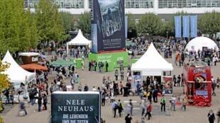 Feira do Livro de Frankfurt acolhe neste ano sete mil expositores de 100 países.