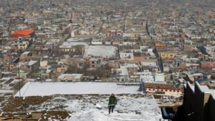 Vue générale de Kaboul, le 16 janvier 2017.