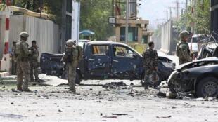 Tổng thống Mỹ giải thích : Vụ nổ ở Kaboul hôm 05/09/2019 khiến Nhà Trắng hủy các cuộc họp bí mật với Taliba và tổng thống Afghanistan.
