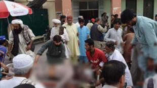 Explosão suicida no sudoeste do Paquistão em comício eleitoral.