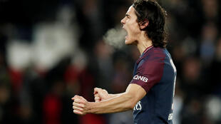 Edinson Cavani scored his 17th goal of the season in PSG's 2-0 win over Troyes.