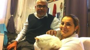 Natália e Gabriel Syed