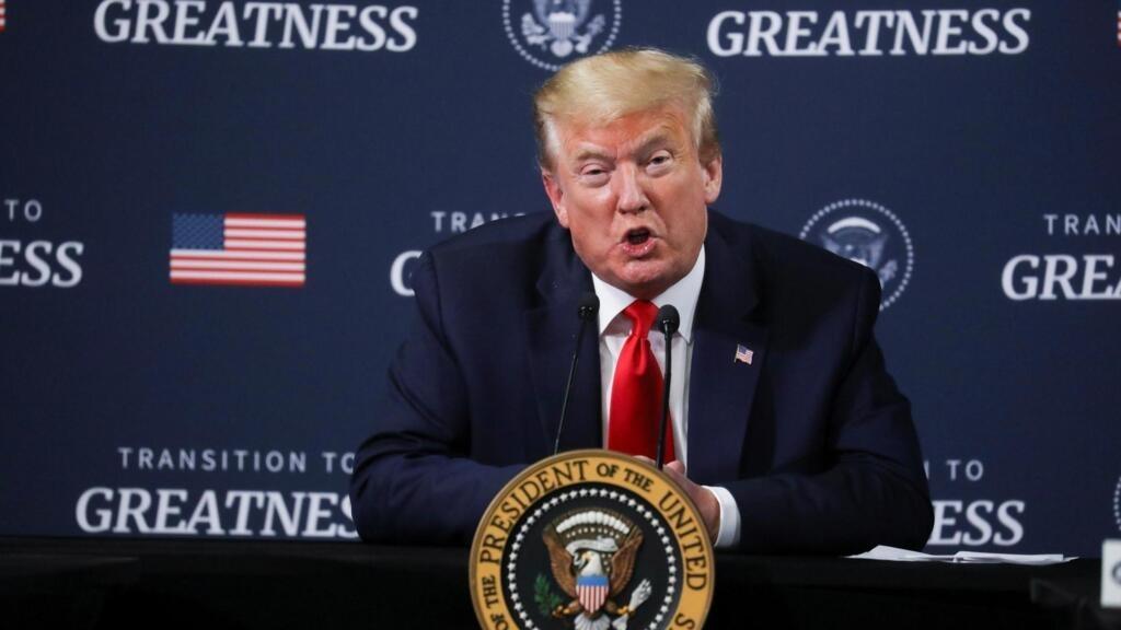 Donald Trump annonce le retrait des Etats-Unis du traité «Ciel ouvert»