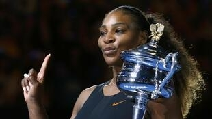 Serena Williams bayan lashe gasar Grand slam ta Australian Open a watan Janairun 2017, kofi na 23 da ta lashe a manyan wasannin da ta buga a tarihinta.