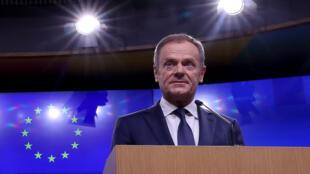 As declarações de Donald Tusk foram criticadas pelos políticos britânicos