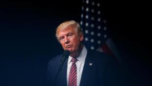 Donald Trump, le 2 août 2016 à Ashburn en Virginie.