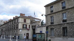 Necker Hospital in Paris, site of the operation.