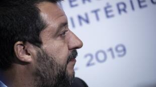 Matteo Salvini (image d'illustration).