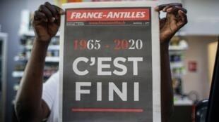 2020 marque l'année de la fin du journal France-Antilles.