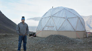 El chef Benjamin Windar creó un invernadero en el archipiélago de Svalbard.