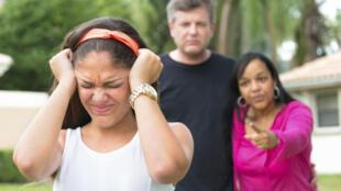 En France, environ 8 millions des 11-19 ans sont en conflit avec leur famille.