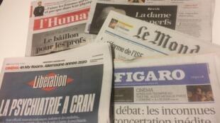 Primeiras páginas dos jornais franceses de 09 de janeiro de 2019