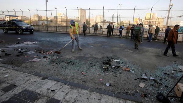 伊拉克巴格達2018年1月15日遭恐怖炸彈襲擊