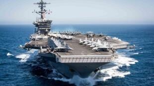 """El """"Theodore Roosevelt"""" lleva a su bordo unos 4.000 marinos"""