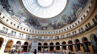 """Toà nhà """"Bourse du Commerce"""" xây vào năm 1767 được biến thành bảo tàng """"Fondation Pinault""""."""