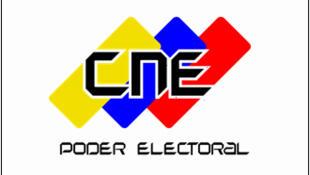 Logo del Consejo Nacional Electoral de Venezuela.