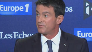 Manuel Valls on Europe 1 this morning, Sunday, 11 September