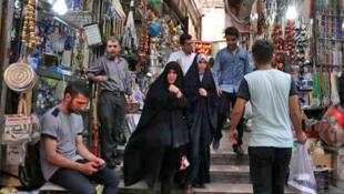 Dans le bazar Tajrish, à Téhéran (image d'illustration).