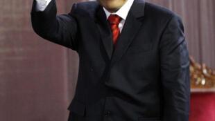 Ollanta Humala, presidente electo de Perú, el 23 de junio de 2011.