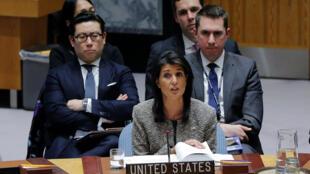 نیکی هیلی، نمایندۀ آمریکا در سازمان ملل