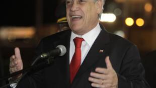 El presidente de Chile Sebastián Piñera.
