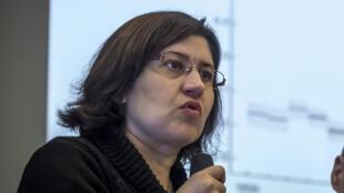 Valérie Masson-Delmotte est co-présidente du GIEC (Groupe d'experts intergouvernemental sur l'évolution du climat).