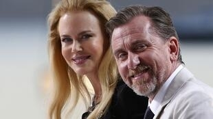 Nicole Kidman and Tim Roth at the Cannes Film Festival for the showing of Grace of Monaco