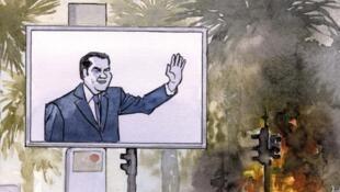 «La chute de la maison Ben Ali», une bande dessinée publiée dans la Revue dessinée et à lire en intégralité sur le site Inkyfada, écrite par le journaliste Pierre Puchot et mise en image par Jean-Paul Krassinsky.