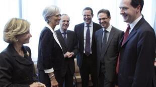 Các bộ trưởng tài chính khu vực đồng euro