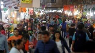 Até quinta-feira (19), a vida na Cidade de México continuava praticamente como se não houvesse pandemia.