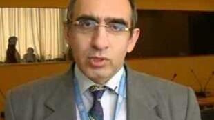 حسن نایبهاشم، رئیس انجمن حقوق بشر ایران در وین