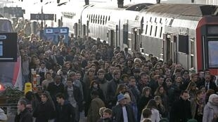 Train delays affected nearly 50,000 people in the Paris region on Thursday.