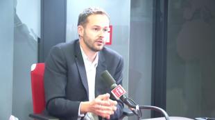 David Belliard, candidat écologiste à la mairie de Paris.